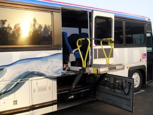 Wheelchair Lift Installation for Greyhound