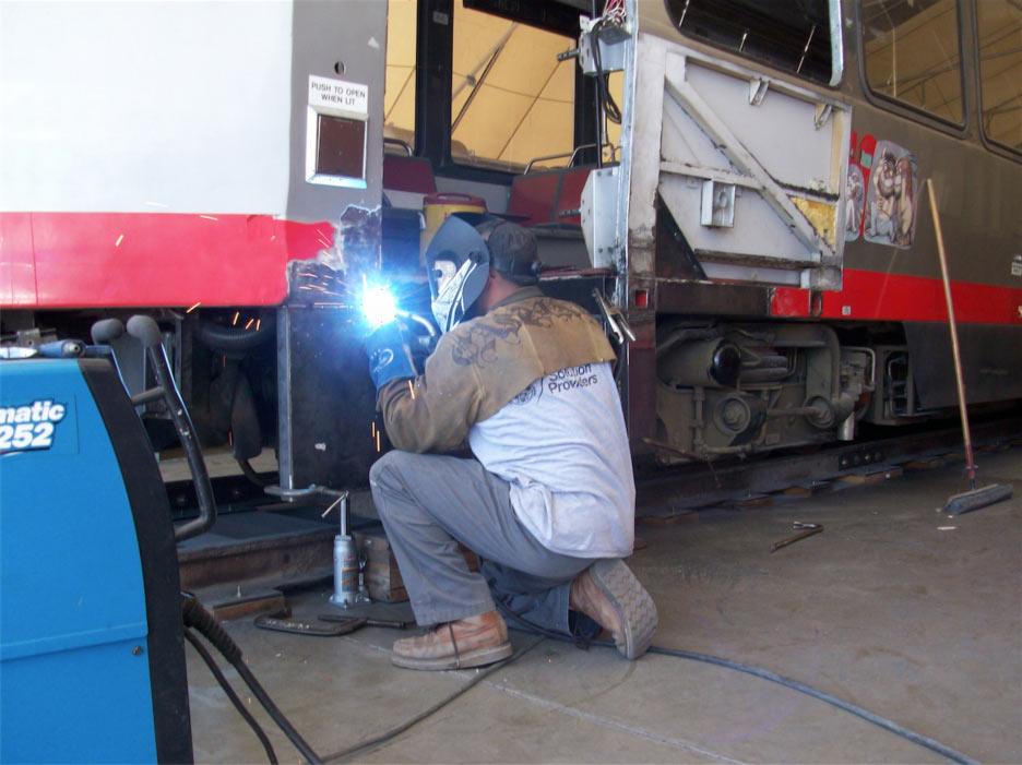 Rail Accident Repair