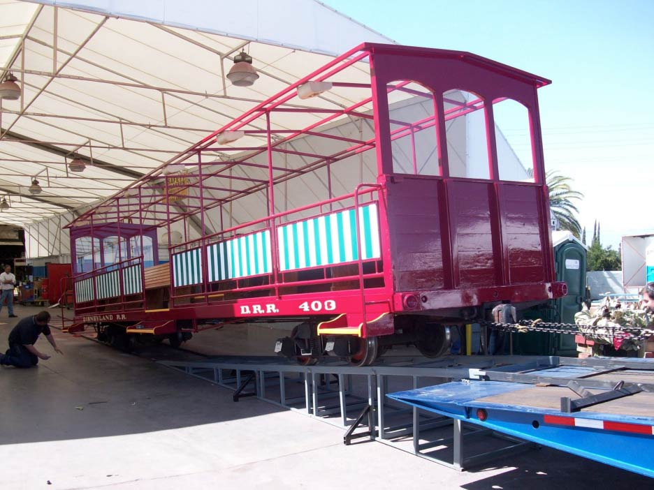 Disneyland Rail Restoration